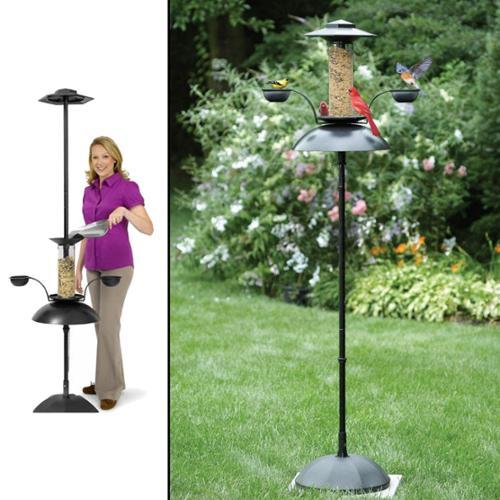 Top three best squirrel proof bird feeders in 2015 for How to build a bird stand